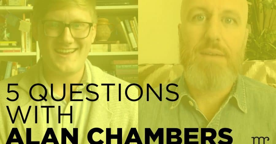 [VIDEO] 5 Questions With Alan Chambers