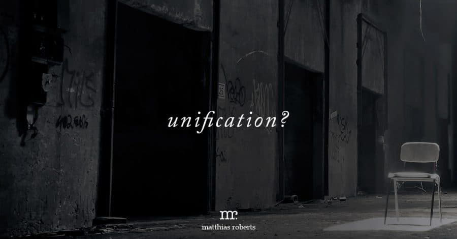 Is Unification Just a Fancy Word For Oppression?